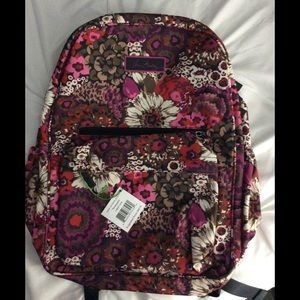 NWT Vera Bradley Backpack in Rosewood